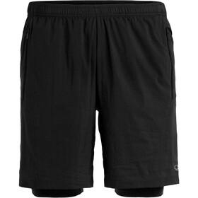 Icebreaker Impulse - Pantalones cortos running Hombre - negro